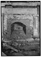 INTERIOR, FIREPLACE - Junglebrook Cabin, Airport Road, Gatlinburg, Sevier County, TN HABS TENN,78-GAT.V,2A-3.tif