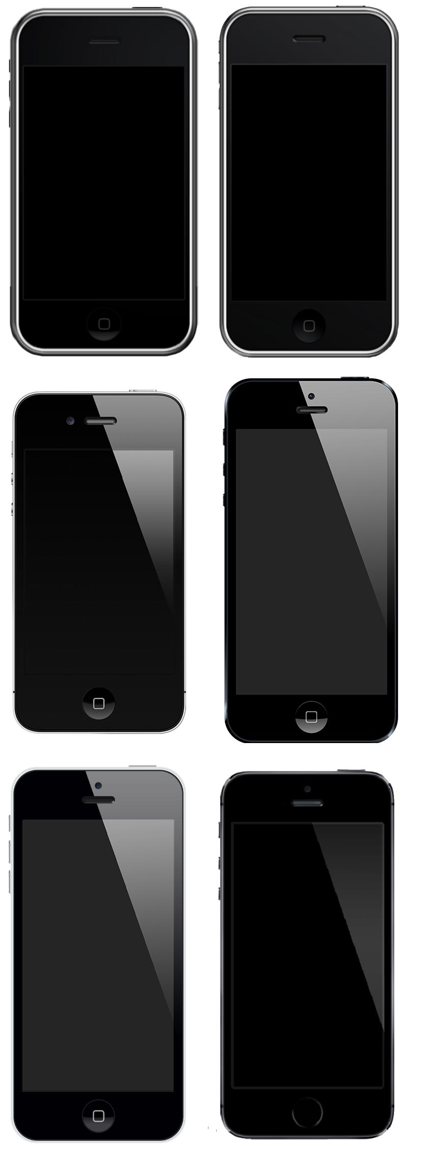 IPhone montage