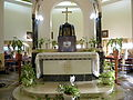 ISRAEL, Mount of Beatitudes;Roman Catholic chapel (interior 1).JPG