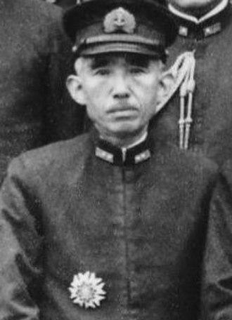Ibō Takahashi - Commander of the IJN 3rd fleet