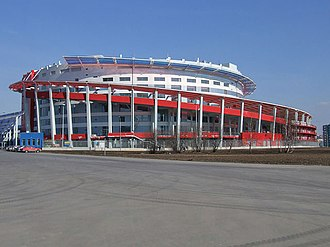 PBC CSKA Moscow - Image: Ice palace in Moscow