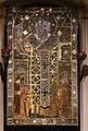 Icona di san nicola tra maria, gesù e i donatori, donata nel 1319 dai re di serbia.jpg