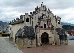 Church of San Jacinto in Salcajá, Guatemala.