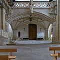Iglesia de San Hipólito el Real (Támara de Campos). Coro bajo.jpg