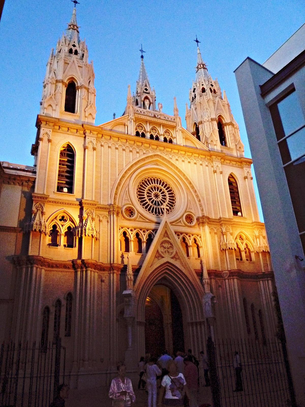 Iglesia del Sagrado Corazón (Málaga) - Wikipedia, la