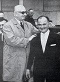 Ilario Bandini ed Enzo Ferrari