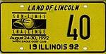 Illinois 1992 LPGA Sun Times Challenge license plate - 40.jpg