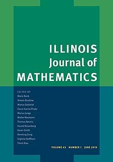 <i>Illinois Journal of Mathematics</i> Academic journal