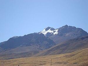 Cunurana (Melgar) - Cunurana as seen from Santa Rosa