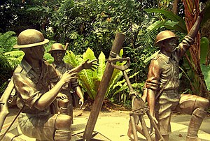 In Memory of the Malay regiment at Bukit Chandu