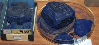 Historic cakes of Indigo