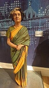 few words about indira gandhi