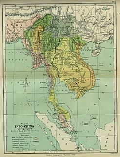Indochina Geographical term referring to Southeast Asia