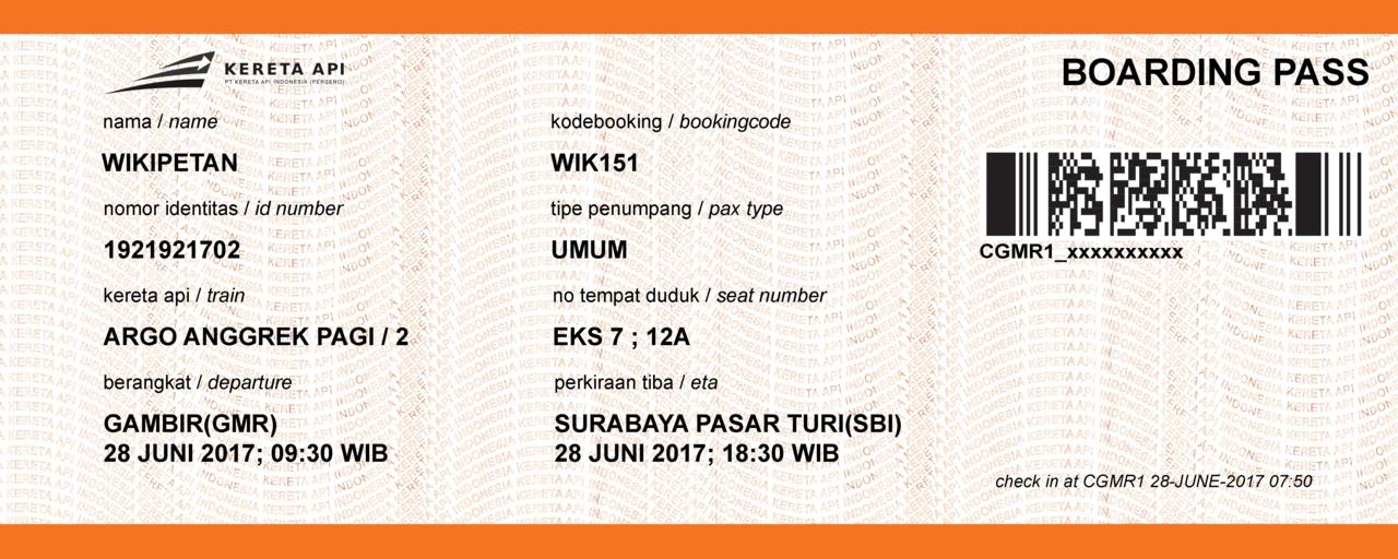 File Indonesian Railways Specimen Ticket Png Wikimedia Commons