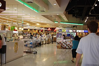 History of the Japanese in Los Angeles - The interior of the Mitsuwa in Torrance