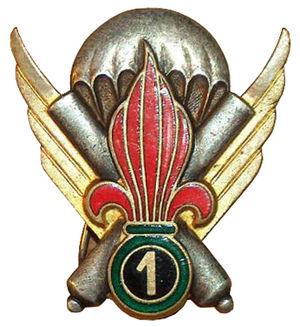 1st Foreign Parachute Heavy Mortar Company - Company Insignia