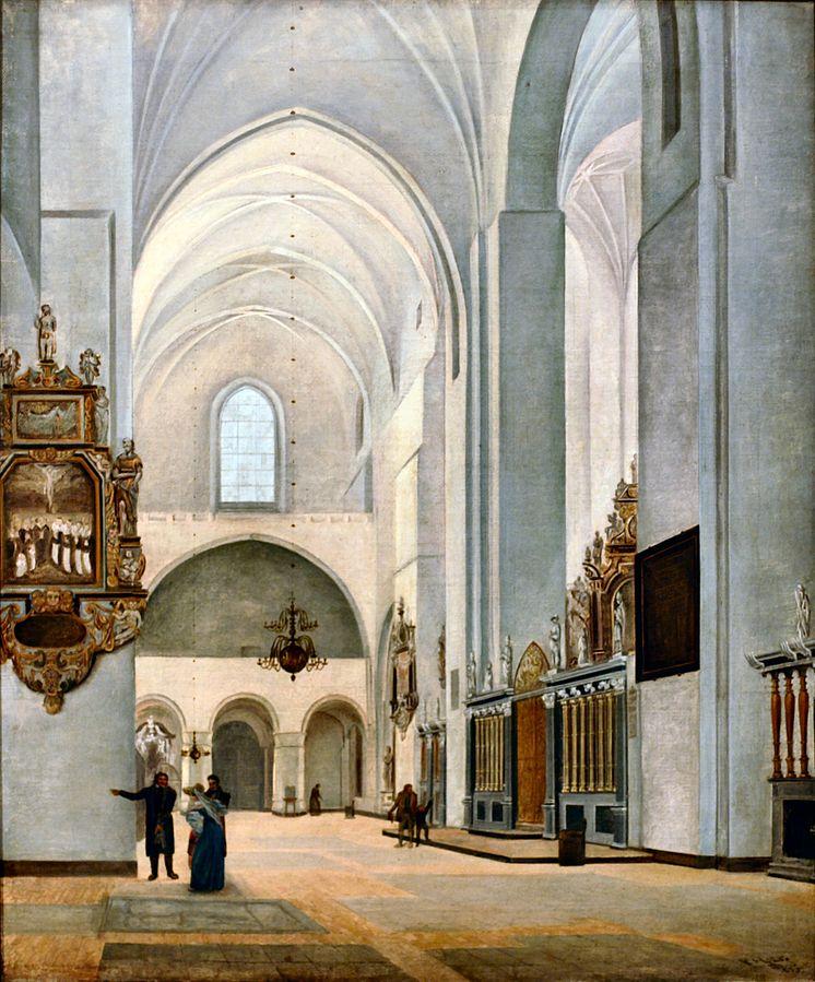 Interiør fra Århus Domkirke