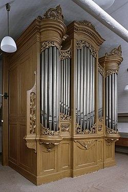 Interieur, aanzicht orgel, orgelnummer 2284 - Haarlemmerliede - 20417448 - RCE.jpg