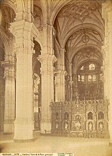 Catedral De Granada Wikipedia La Enciclopedia Libre