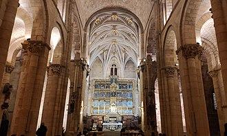 Basilica of San Isidoro, León - Interior of the Basilica of San Isidoro.