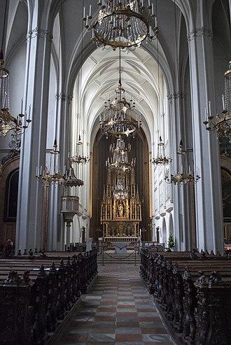 Augustinian Church, Vienna - Image: Interior of Augustinian Church, Vienna