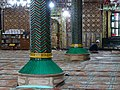 Interior of Khanqah Shah-i-Hamadan - Wooden Mosque - Old City - Srinagar - Jammu & Kashmir - India (26770366261).jpg