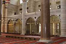 Interior of Süleymaniye Mosque (2).jpg
