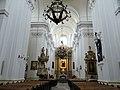 Interior of Saint Francis church in Warsaw - 02.jpg