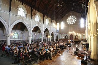 St Paul's Church, Auckland - St Paul's Evening Service, 2012.