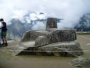 """The Intihuatana (""""sun-tier"""") is believed to have been designed as an astronomic clock by the Incas"""
