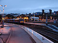 Inverness Station at dusk - geograph.org.uk - 653331.jpg