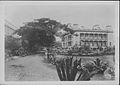 Iolani Palace with a view of the Royal Bungalow (PP-11-2-002).jpg
