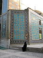 Iranian alone woman - sited near Mohammad Al Mahruq Mosque - Nishapur 6.jpg