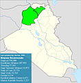 Iraqi parliamentary election, 2010 result-Ninewa.jpg