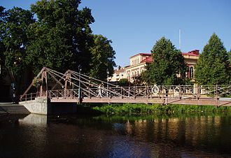 Georg Theodor Chiewitz - Image: Iron bridge Uppsala