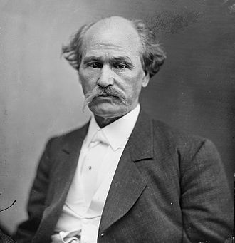 Isham G. Harris - Photograph of Harris by Mathew Brady