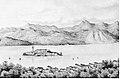 Isola di San Giulio, Orta, 1847.jpg