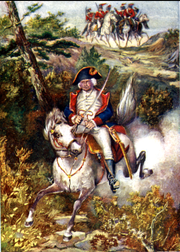 """""""Old Put"""" escaping from the British at Horseneckfrom """"Old Put"""" The Patriot"""