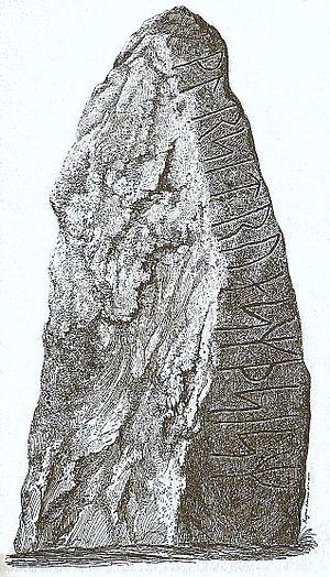 Istaby Runestone - Istaby Runestone, side B