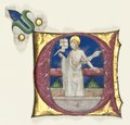Italy, Milan, 15th century - Historiated Initial (E) Excised from an Antiphonary- Risen Christ in the To - 1924.804 - Cleveland Museum of Art.tif