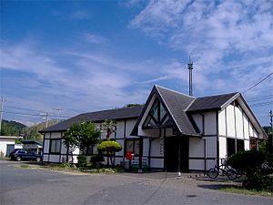 Iwami-Tsuda Station - Station building