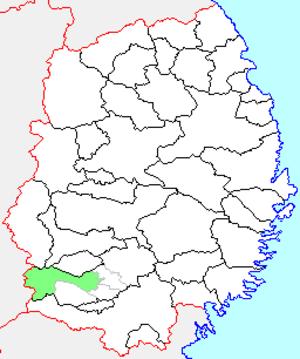 Isawa, Iwate - Image: Iwate Isawa town