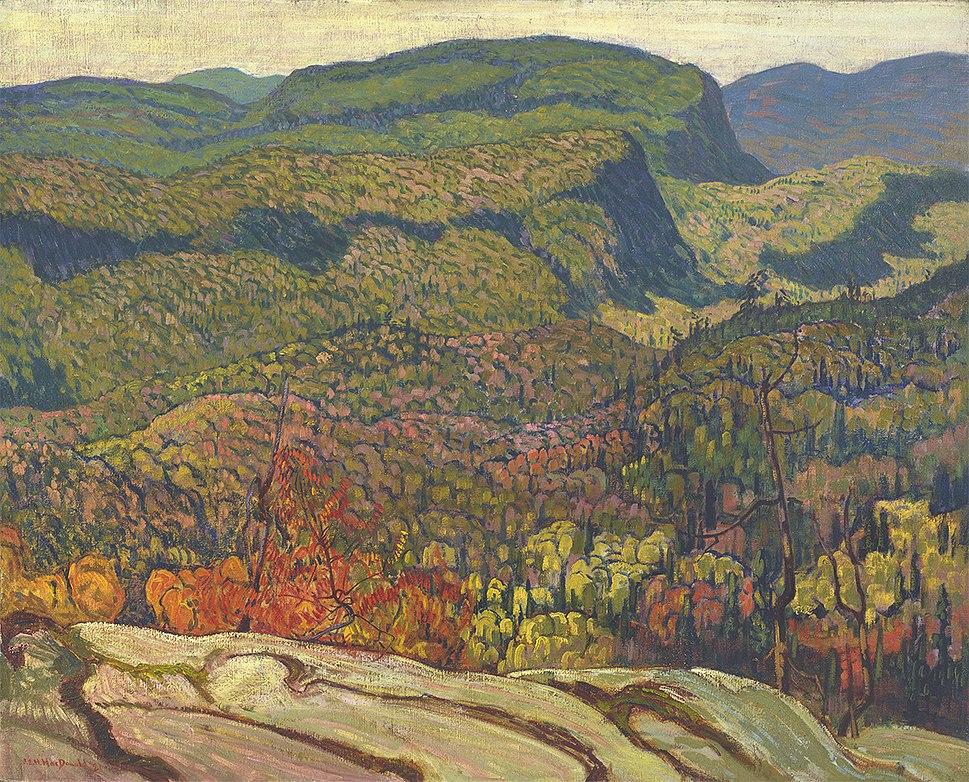 J. E. H. MacDonald, Forest Wilderness 1921