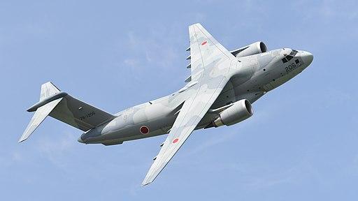 JASDF C-2(78-1206) fly over at Miho Air Base May 27, 2018 02