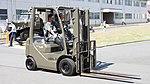 JASDF Forklift(TOYOTA L&F GENEO14) at Nara Base 20150606-01.JPG