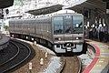 JRW Series 207-1000 set S25 and T7 at Motomachi station.jpg