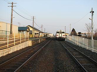 Hashikami Station - Image: JR Hashikami sta 20080325 (2)