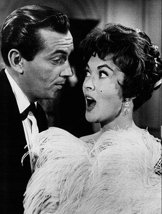 Paula Raymond - Jack Kelly and Paula Raymond in Maverick (1961)
