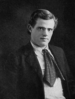 Jack London, alk. John Griffith Chaney, vuonna 1903.