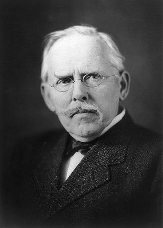 Jacob Riis - Jacob Riis in 1906